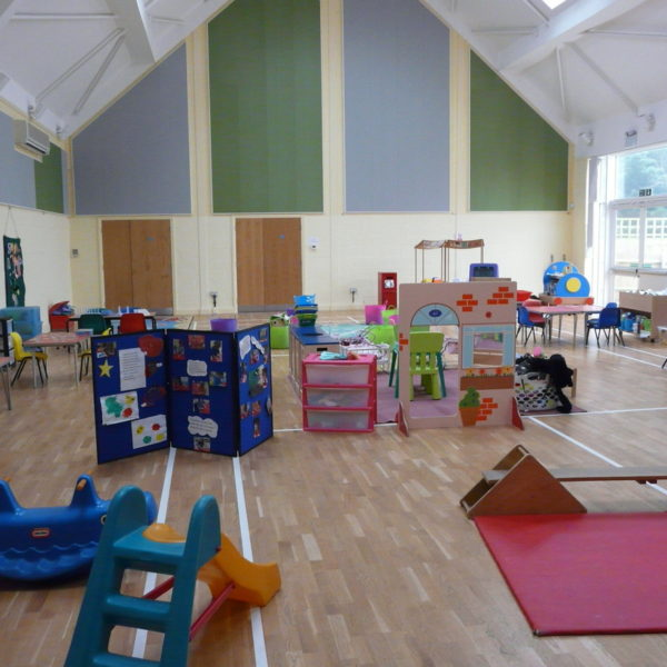 Inside Stanwick Preschool